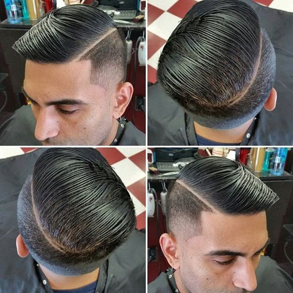 Shadow Fade Combover mit Seitenteil