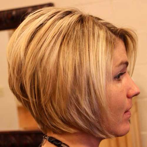 Layered Stacked Trendy Bob Schnitt