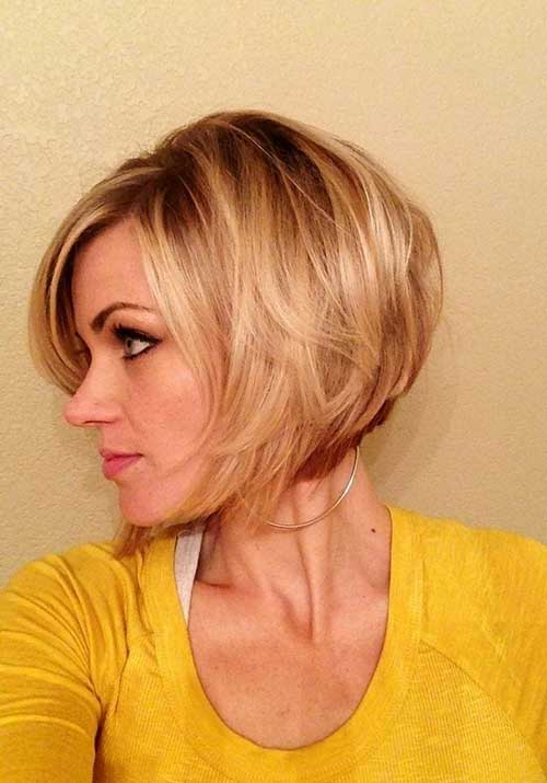 Chic Stacked Bob Haarschnitte