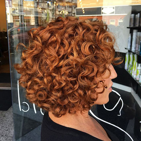 Curly Kurzes Curl Perm