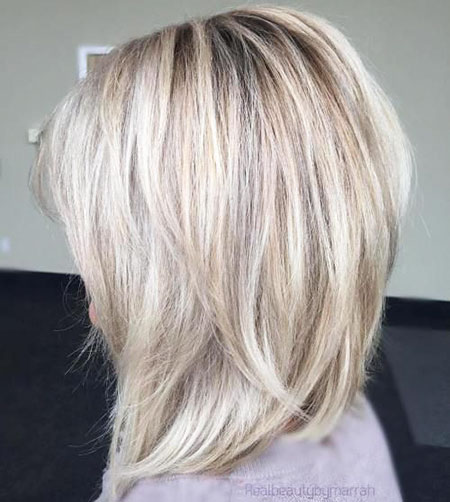 Bob Blonde Lob Long