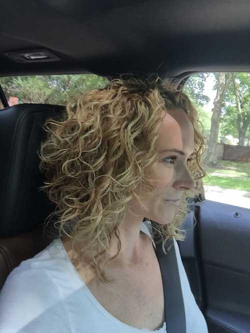 Curly Bob Frisuren 2017