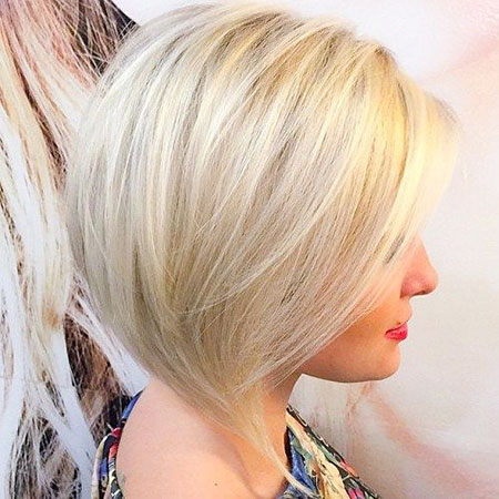 Blonde Platinum Bobs Bob Kurze Wellenförmige Low Fine Beach