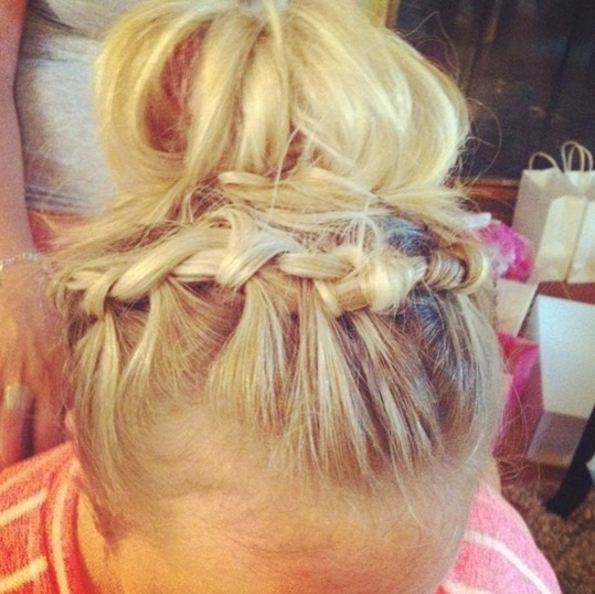 Delicate Braided Updo Hairstyles for Long Hair