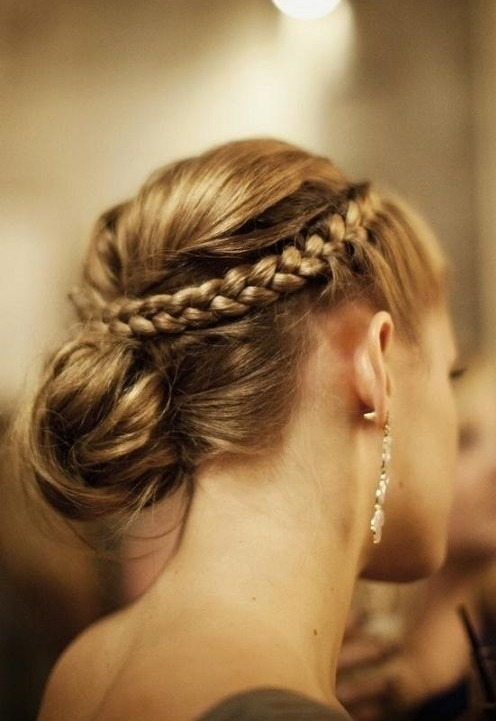 Formal Braided Updo Hairstyles