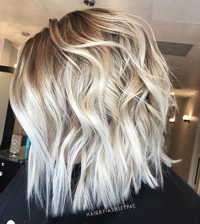 Trendy Curly Bob