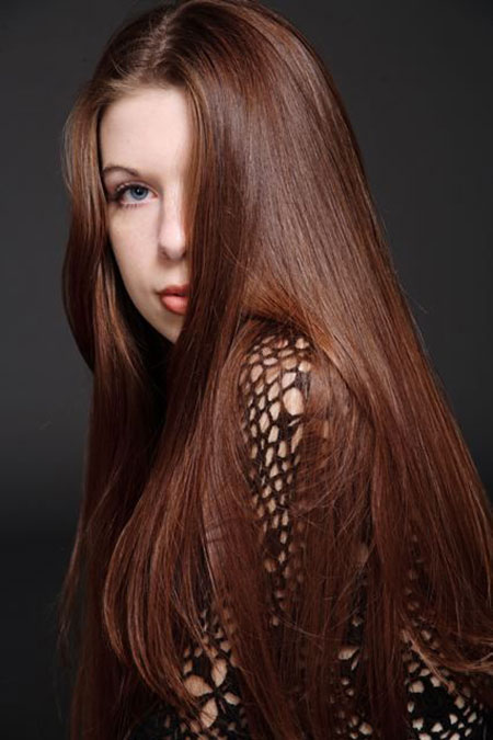 Farbe Brown Chestnut Hair