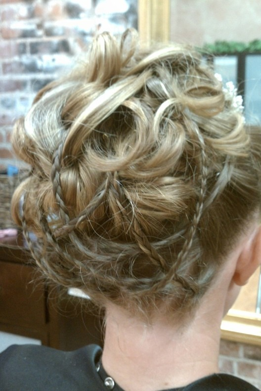 Braided Updo Hairstyles for Prom