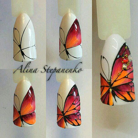 Nails Manicure Butterfly University