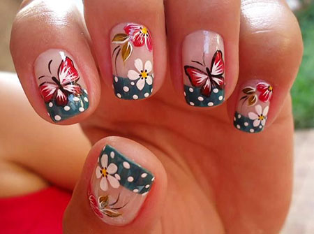 Butterfly Designs Nail Dot