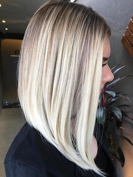 Blondes Balayage Bob Thin