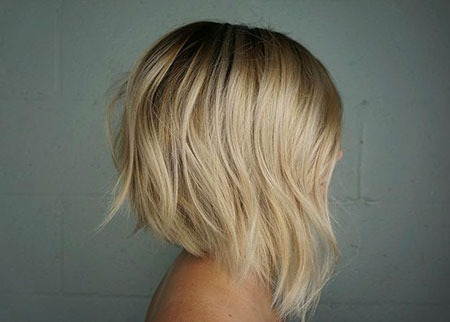 "Bob Blonde Bobs - Highlights Blond Balayage Baby Artist Abgewinkelt ""width="" 450 ""height="" 322"