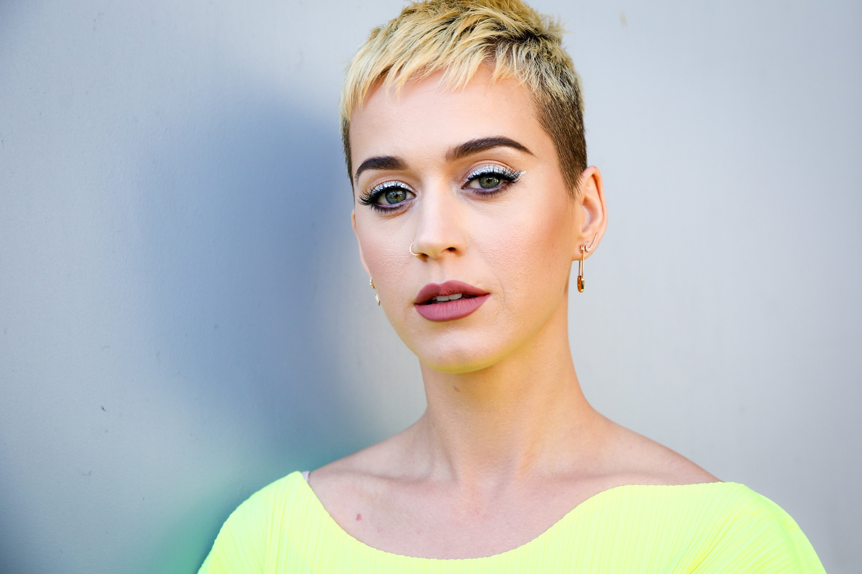 Katy Perry - Kurze Pixie-Frisuren 2018