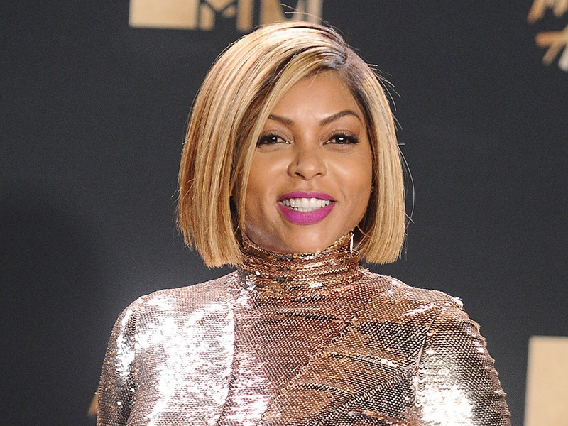 Taraji P. Henson, neuer blonder Bob Frisuren 2017 bei den MTV Movie Awards