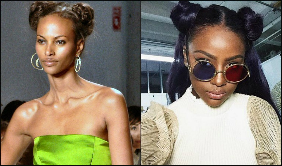 black-women-double-bun-frisuren-2017
