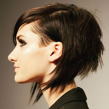 Pixie Choppy Bob Short