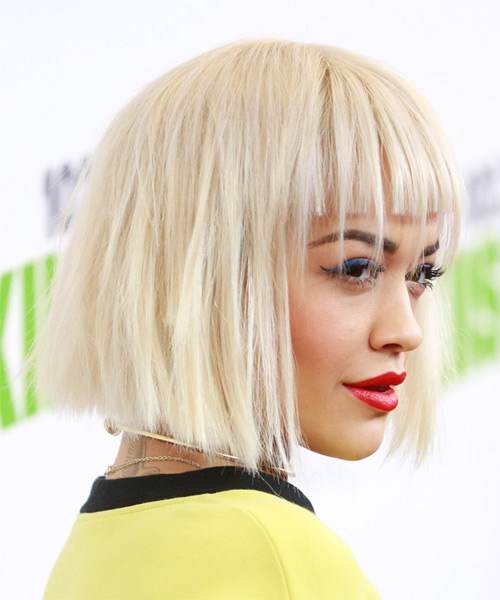 Rita-ora-Medium-Straight-Bob-Frisur
