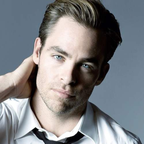 chris pine haircut kurz