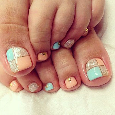 Nail-Toe-Kunstdesigns