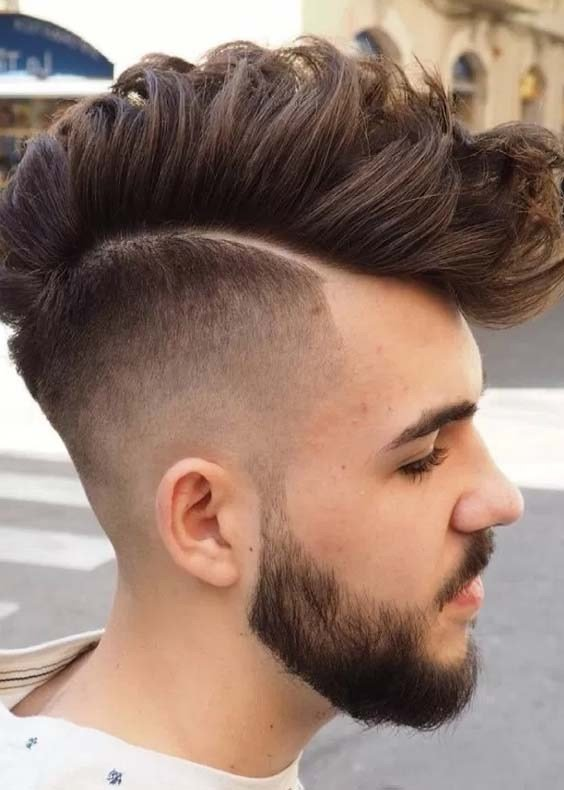 Faux Hawk Boys Frisuren 2018