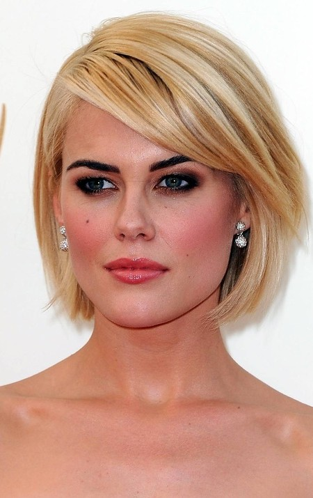 Side Swept Bangs Bob Haircut 2019