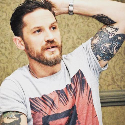 Der Hipster Tom Hardy Haircut
