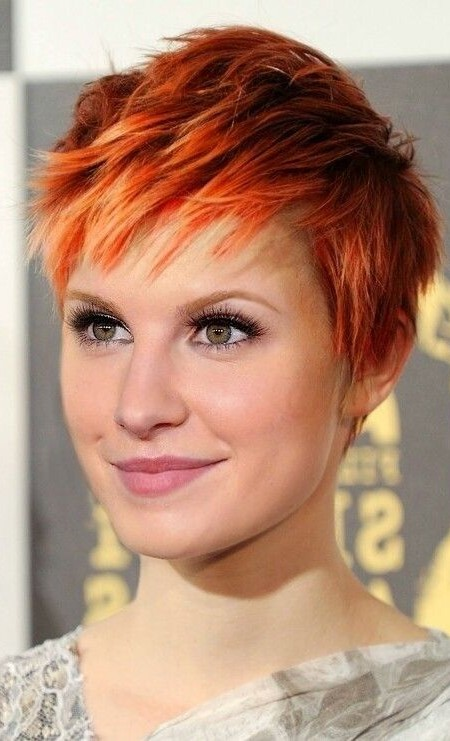 red ombre pixie 2019