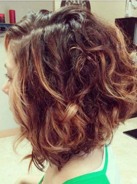Bob Curly Hairstyles 2018