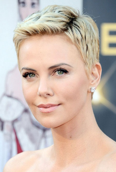 Charlize Theron Pixie Hairstyle