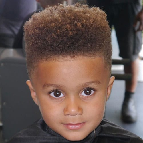 High Top Afro mit Twists