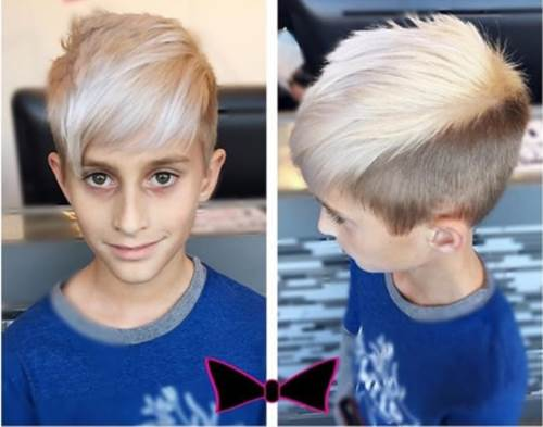 Rocker Frisur - Toddler Boy Haircut