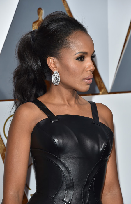 Kerry Washington - High Ponytail Frisur