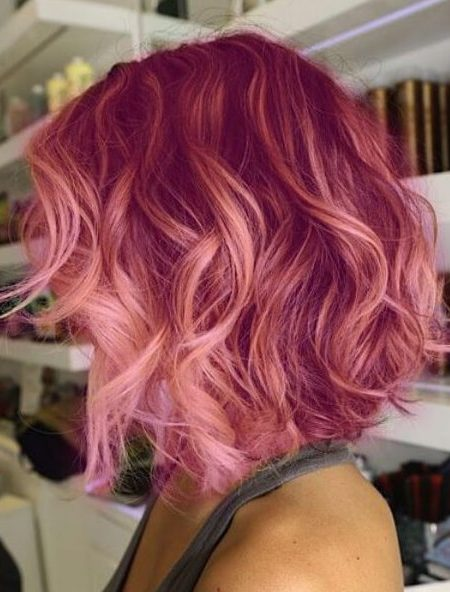Coole Ombre-Haarfarbe