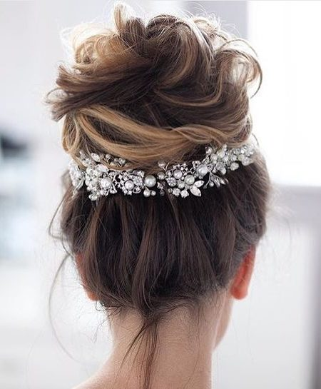 Messy Formal Updo