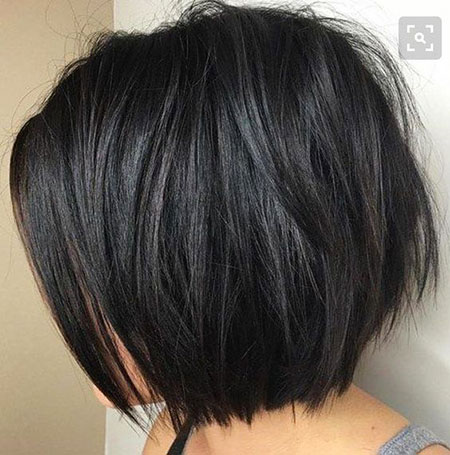 Dickes Haar, Bob, Frauen, Trends, Layered, Trendy, Dick