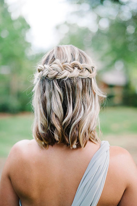 Wasserfall Braid Hair, Hochzeit Hair Braid Frisuren